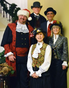 The Austin Carolers at Neill-Cochran House Museum, 2013. Photo: Bethany Boucher